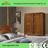 Черная античная французская роскошная мебель ванной комнаты твердой древесины (CK003)