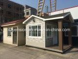 Casa de protector prefabricada de la instalación rápida/prefabricada móvil moderna en la calle