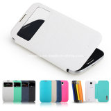 Telefon Accessories, New Leather Material Phone Fall für Samsung Galaxy S4 Siv I9500 Battery Cover