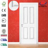 3+1のパネルの白く主な木のドア