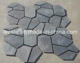舗装のための熱い販売法の黒のスレートのFlagstone