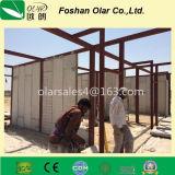 Materiales de la tarjeta del cemento de la fibra para la pared externa o la partición interna