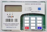 Предоплащенное разделение кнопочной панели установки рельса DIN/счетчик энергии предплаты