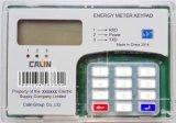 Spaccatura della tastiera di KWH del montaggio della guida di BACCANO pagata anticipatamente/tester energia elettrica di prepagamento