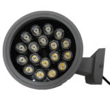 18W*2外部照明のための二重側面LEDの壁ライト