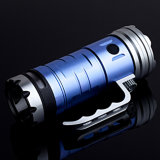 3X18650 Batt Blue en White LED Fishing Light