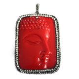 최신 판매 형식 Buddha 보석 원석 보석 펀던트 목걸이 DIY