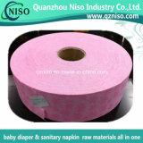 Tela não tecida colorida da camada da distribuição da aquisição (ADL) para o guardanapo sanitário China