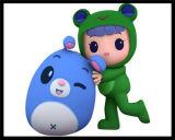 T-Shirt Plush Toy를 가진 RoHS Stuffed Animals Plush