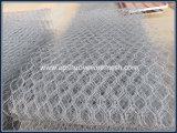Sechseckiges Gabion Wire Basket für Stone