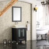 Vanité moderne de salle de bains en bois Fed-1191 plein, Module de salle de bains