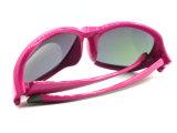 Óculos de sol Tr90 polarizados esporte do desenhador de moda das mulheres