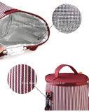 Il picnic portatile del di alluminio del ghiaccio isolato può Wine sacchetto del dispositivo di raffreddamento del pranzo della birra