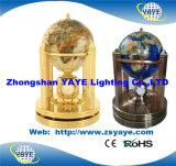 Globo inglese di Yaye per formazione/programma di mondo/globo della pietra preziosa con il formato del globo: 80/110/150mm