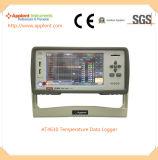 定温器(AT4610)のための温度データ自動記録器
