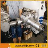 Линия сертификат штрангя-прессовани трубы из волнистого листового металла стены HDPE/PP/PVC двойная Ce