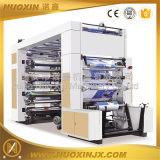 Farbe Flexo Drucken-Maschine der Geschwindigkeit-2-8 mit dem Aufschlitzen