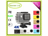 "OEM Factory Driving 30m impermeável 2.0 ""LCD WiFi Action Cam 4k 24fps Sport Camera"