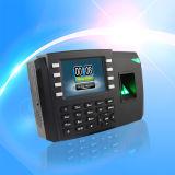 Service de temps d'empreinte digitale avec GPRS (TFT600/GPRS)