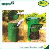 Runder umweltfreundlicher faltbarer sauberer Garten-Oxford-Pop-up Beutel