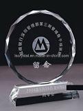La nueva llegada personalizó el trofeo cristalino del logro en los artes populares hechos en China