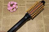 Pettine elettrico del bigodino di capelli che raddrizza la spazzola di capelli