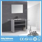 Vanidad clásica vendedora caliente americana del cuarto de baño de madera sólida (BV113W)