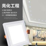 Luz de painel de alumínio de venda quente do diodo emissor de luz 18W/para baixo luz