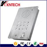Внутренная связь чистой комнаты с плоской кнопочной панелью Knzd-15 Kntech