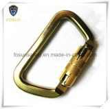 Height에 Working를 위한 강선전도 Steel Self Locking Carabiner