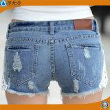 Nuove donne Jean blu di Short della mutanda del Jean del denim di disegno della fabbrica