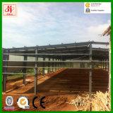ルワンダのプレハブの鉄骨構造の倉庫