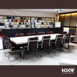 Mesa de escritório moderna de superfície contínua acrílica da mobília