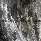 Fabbricato nero del jacquard tinto filato caldo di vendita (QF16-2512)