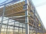 Marco portable fuerte durable de la estructura de acero como edificio del taller del almacén