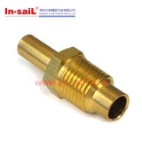 Трубопровод CNC подвергая механической обработке латунный поворачивая части