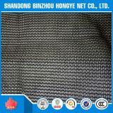 Rede resistente UV da máscara de Sun do HDPE da fita do preto da alta qualidade