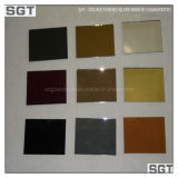 2mm-10mm claro y de color de aluminio o cobre de espesor de plata libre con Ce, SGS, Csi