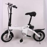 Bicyclette se pliante électrique d'alliage d'aluminium du modèle le plus neuf avec la batterie au lithium