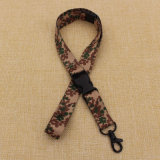 Safety Buckle를 가진 도매 Cheapest Polyester Printed Lanyards