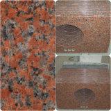 G682 venden al por mayor la casa prefabricada del granito/el cuarto de baño del laminado de la superficie del mármol/la cocina/el cuarzo sólido/la encimera de piedra natural