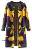 Кардиган свитера горячих сбываний способа девушки OEM длинний (W17-734)