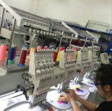 Wonyo 4 de Hoofd Industriële Machine van het Borduurwerk met Dahao/Topsidom Sysytem