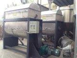 Mélangeur horizontal pour la poudre se mélangeant à la fonction de chauffage