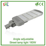 180W Straßenlaternedes Winkel-justierbares LED im Freien wasserdichtes IP65 LED der Straßenbeleuchtungs-180W (SL-180E)