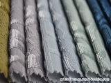 Tissu de sofa de velours de jacquard tissé par polyester 100%