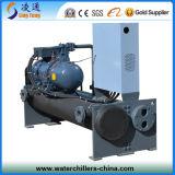 Alto refrigerador de agua de enfriamiento del tornillo de la capacidad