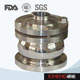Klep van de Controle van de Bal van het roestvrij staal de Hygiënische Type Gelaste (jn-NRV2002)