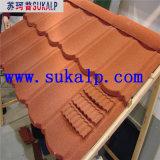 Telha de telhado do metal que faz a máquina