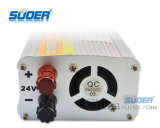 Invertitore automatico 24V di potere dell'invertitore 1000W di potere di Suoer al piccolo invertitore di potere 220V (SDA-1000B)
